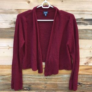 Eileen Fisher | Red wool Cardigan Sweater Small